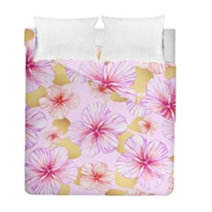 Fancy Tropical Pattern Duvet Cover Double Side (full/ Double Size) by tarastyle