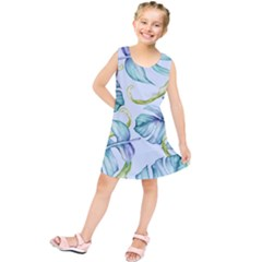 Fancy Tropical Pattern Kids  Tunic Dress by tarastyle