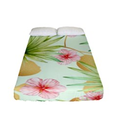 Fancy Tropical Pattern Fitted Sheet (full/ Double Size) by tarastyle
