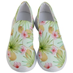 Fancy Tropical Pattern Women s Lightweight Slip Ons by tarastyle
