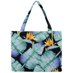 Fancy Tropical Pattern Mini Tote Bag by tarastyle