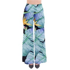 Fancy Tropical Pattern So Vintage Palazzo Pants