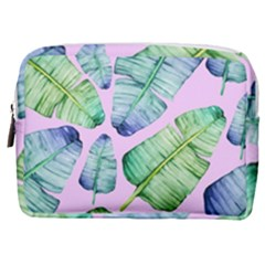 Fancy Tropical Pattern Make Up Pouch (medium)