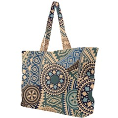 Fancy Colorful Mexico Inspired Pattern Simple Shoulder Bag by tarastyle