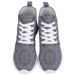Background Image Creativity Women s Lightweight High Top Sneakers