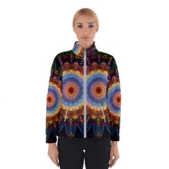 Colorful Prismatic Chromatic Winter Jacket