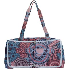 Fancy Colorful Mexico Inspired Pattern Multi Function Bag by tarastyle