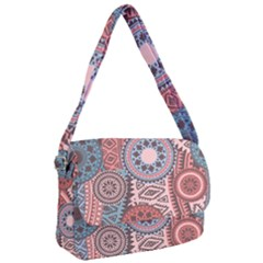 Fancy Colorful Mexico Inspired Pattern Courier Bag