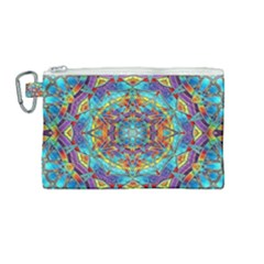 Background Image Wallpaper Canvas Cosmetic Bag (medium)