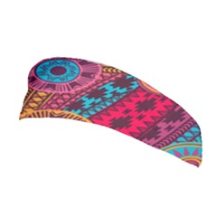 Fancy Colorful Mexico Inspired Pattern Stretchable Headband by tarastyle