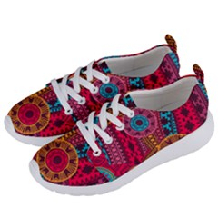 Fancy Colorful Mexico Inspired Pattern Women s Lightweight Sports Shoes by tarastyle