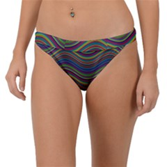 Decorative Ornamental Abstract Band Bikini Bottom