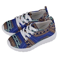 Fancy Colorful Mexico Inspired Pattern Kids  Lightweight Sports Shoes by tarastyle