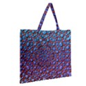Tile Background Image Pattern 3d Zipper Large Tote Bag View2