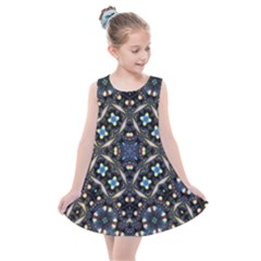 Tile Background Image Pattern Patterns Kids  Summer Dress