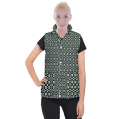 Background Image Pattern Women s Button Up Vest