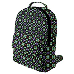 Background Image Pattern Flap Pocket Backpack (small)