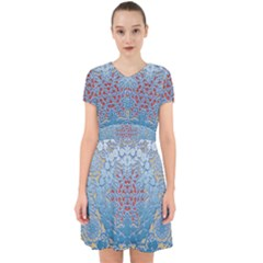Pattern Background Pattern Adorable In Chiffon Dress by Pakrebo