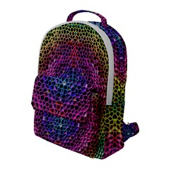 Background Image Decorative Flap Pocket Backpack (large)