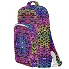 Background Image Decorative Double Compartment Backpack