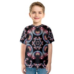 Ornament Kaleidoscope Kids  Sport Mesh Tee