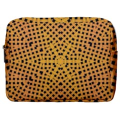 Background Pattern Structure Make Up Pouch (large)