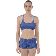 Background  Geometric Pattern Perfect Fit Gym Set