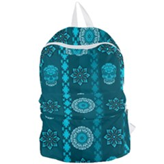 Fancy Colorful Mexico Inspired Pattern Foldable Lightweight Backpack by tarastyle