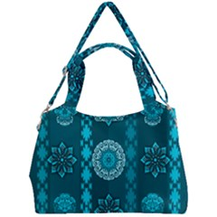 Fancy Colorful Mexico Inspired Pattern Double Compartment Shoulder Bag by tarastyle