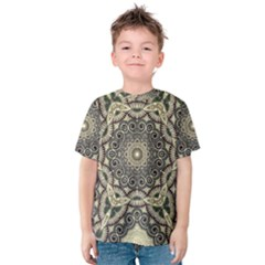 Surreal Design Graphic Pattern Kids  Cotton Tee