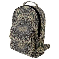 Surreal Design Graphic Pattern Flap Pocket Backpack (small)
