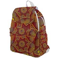 Tile Background Pattern Backgrounds Top Flap Backpack