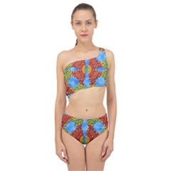 Pictures Digital Art Abstract Spliced Up Two Piece Swimsuit