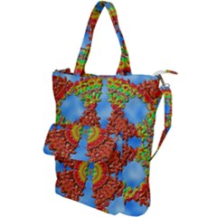 Pictures Digital Art Abstract Shoulder Tote Bag by Pakrebo
