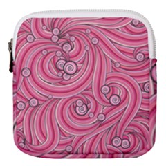Pattern Doodle Design Drawing Mini Square Pouch