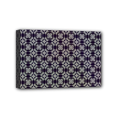 Ornaments  Kaleidoscope Pattern Mini Canvas 6  X 4  (stretched)