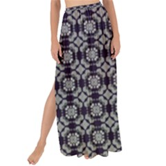 Ornaments  Kaleidoscope Pattern Maxi Chiffon Tie-up Sarong by Pakrebo