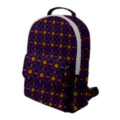 Background Image Ornament Flap Pocket Backpack (large)