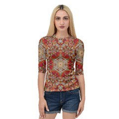 Pattern Background Patterns Quarter Sleeve Raglan Tee