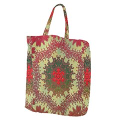 Tile Background Image Color Pattern Giant Grocery Tote