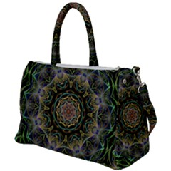 Fractal  Background Graphic Duffel Travel Bag