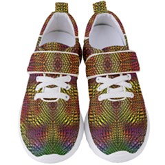 Pattern Background Women s Velcro Strap Shoes