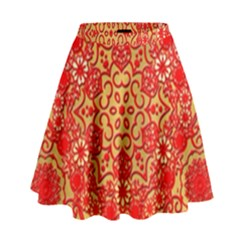Background Design Background Image High Waist Skirt