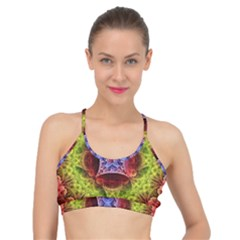 Tile Background Image Pattern Basic Training Sports Bra