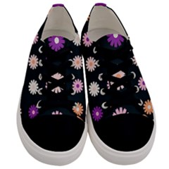Daisy Deco Men s Low Top Canvas Sneakers