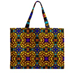 Tile Background Image Graphic Abstract Zipper Mini Tote Bag