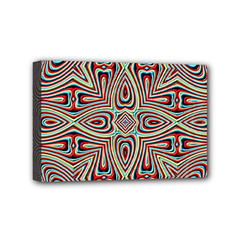 Background Image Color Colorful Mini Canvas 6  X 4  (stretched)