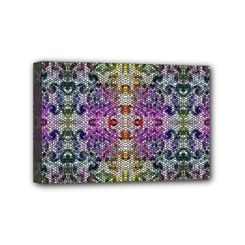 Background Image Pattern Mini Canvas 6  X 4  (stretched) by Pakrebo