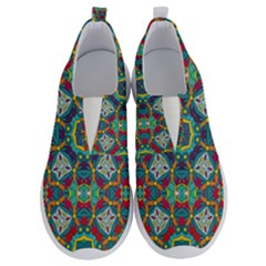 Farbenpracht Kaleidoscope Art No Lace Lightweight Shoes