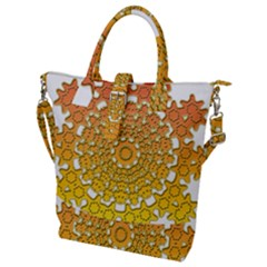 Background Image Ornament Buckle Top Tote Bag